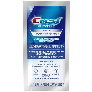 Купить отбеливающие полоски Crest 3D White Whitestrips Luxe Professional Effects Teeth Whitening Kit