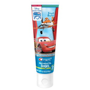 Купить зубную пасту для детей Crest Pro-Health Stages Kids Disney Pixar Cars and Planes Toothpaste