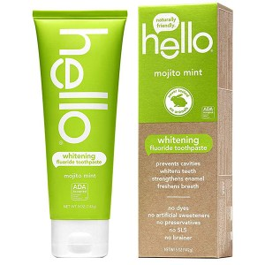 Купить зубную пасту Hello Naturally Friendly Mojito Mint Fluoride Toothpaste