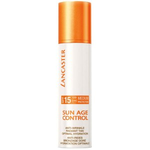 Купить солнцезащиту для лица Lancaster Sun Age Control Anti-Wrinkle Radiant Tan Optimal Hydration SPF15
