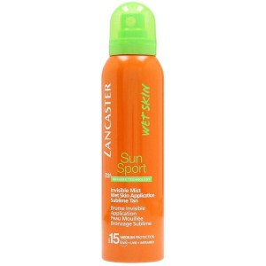Купить солнцезащитный спрей Lancaster Sun Sport Invisible Mist Wet Skin Application SPF15