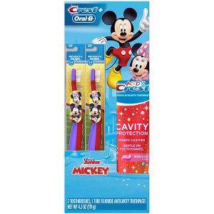 Купить набор для детей Oral-B and Crest Kids Holiday Gift Pack Disneys Mickey Mouse & Minnie Mouse