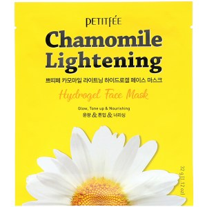 Купить маску для лица Petitfee Chamomile Lightening Hydrogel Face Mask