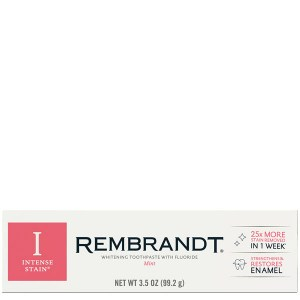 Купить зубную паста Rembrandt Removes Stains & Restores Enamel Mint Toothpaste