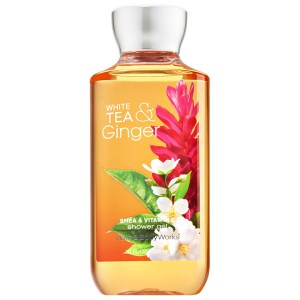 Купить гель для душа Bath and Body Works Shower Gel White Tea Ginger