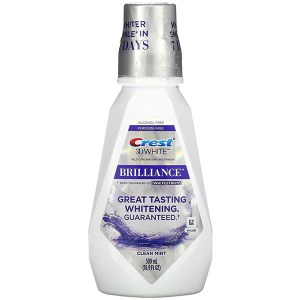 Купить ополаскиватель для рта Crest 3D White Brilliance Alcohol Free Whitening Mouthwash Clean Mint