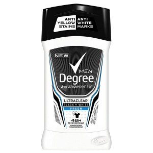 Купить дезодорант для мужчин Degree Men MotionSense UltraClear Black+White Fresh 48H Anti-perspirant