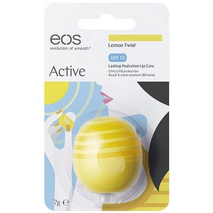 Купить бальзам для губ EOS Active Protection Lip Balm Lemon Twist SPF15