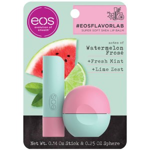 Купить набор бальзамов для губ EOS Flavorlab Watermelon Frose Lip Balm Sphere and Stick