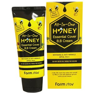 Купить BB крем FarmStay All-In-One Honey Essential Cover BB Cream