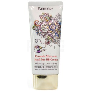 Купить BB-крем FarmStay All-In One Snail Sun BB Cream