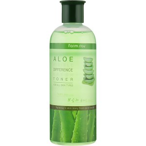 Купить тонер для лица FarmStay Aloe Visible Difference Moisture Toner