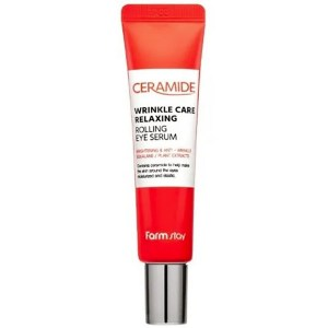 Купить сыворотку для глаз FarmStay Ceramide Wrinkle Care Relaxing Rolling Eye Serum