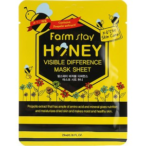 Купить маску для лица FarmStay Visible Difference Mask Sheet Honey
