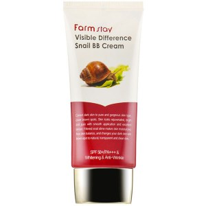 Купить BB-крем для лица FarmStay Visible Difference Snail BB Cream SPF50 +PA+++